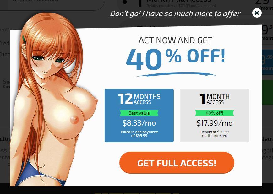 Hentai Pros Exit Prices